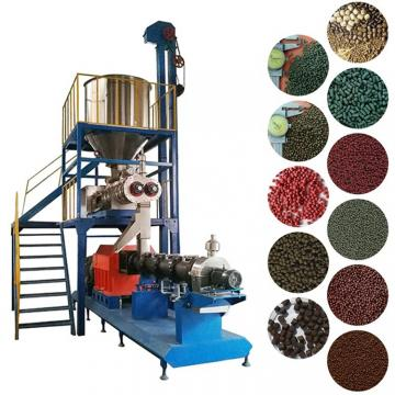 Industrial Automatic Machinery Pet Food Fish Feed Extruder Production Line
