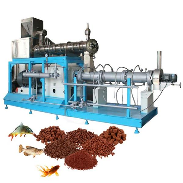 Fish Food Feed Making Production Processing Extrusion Device Machine Line