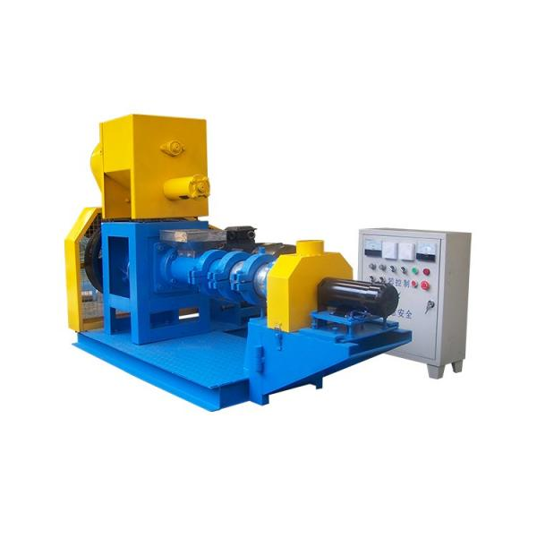 1ton/H Fish Feed Machine Automatic Floating Feed Production Line Automatic Fish Food Production Equipment
