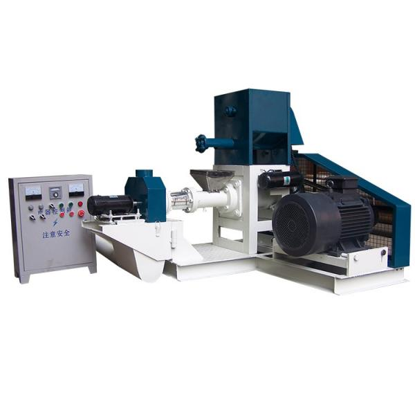 Wet Type Sinking and Floating Fish Feed Pellet Making Machine
